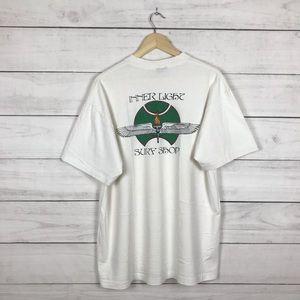 """Vintage 1990s Surf Shop """"Inner Light"""" T-Shirt"""